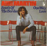 Cover Andy Martin [DE] - South Of The Border